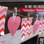 Easy Valentine's Day Banner – No Fancy Tools Required!
