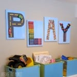 "Creative ""PLAY"" Art for the Playroom"