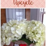 Upcycling a Folgers Coffee Canister Into an Adorable Vase