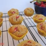Strawberry Banana Yogurt Muffins – (Sort of) Healthy, (Totally) Fruity and Delicious