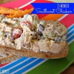 15 Minute (No, for Real) Southwest Chicken Salad