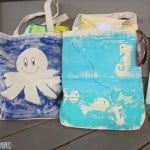 Painted Beach Bags for the Little Ones
