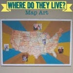 """Where Do They Live?"" Map Art for the Playroom"