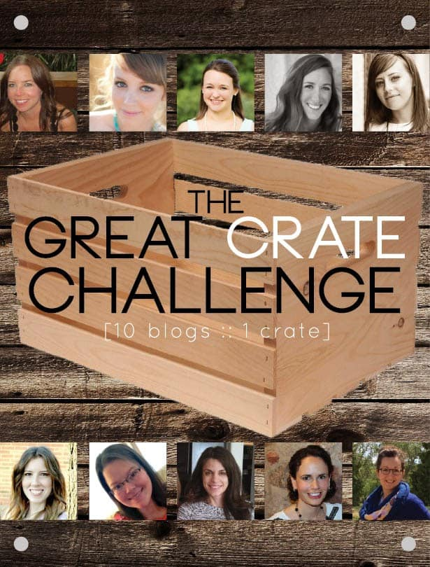 The Great Crate Challenge // 10 Blogs, 1 Crate
