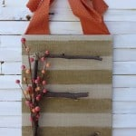 Twigs and Berries Fall Door Decor