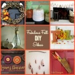 Fabulous Fall DIY Decorating Ideas