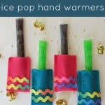 Easy DIY Ice Pop Koozies for the Kiddos