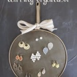 DIY Earring Organizer Made from a Kitchen Gadget