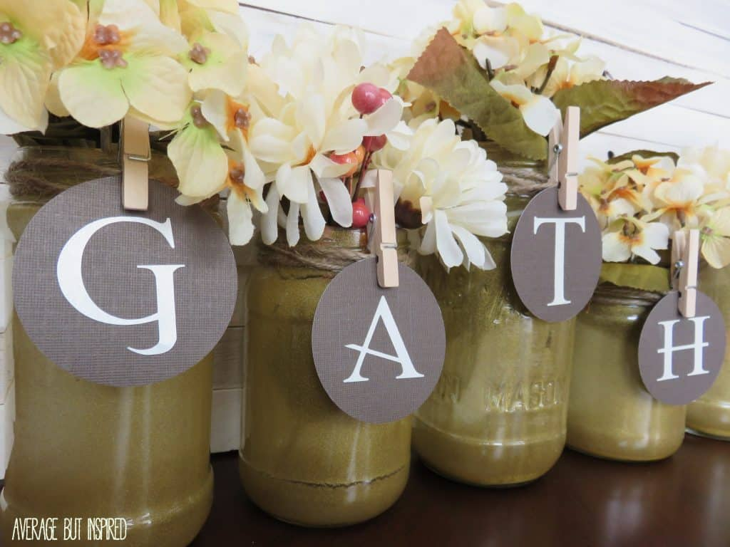 Glitter Jars (closeup)