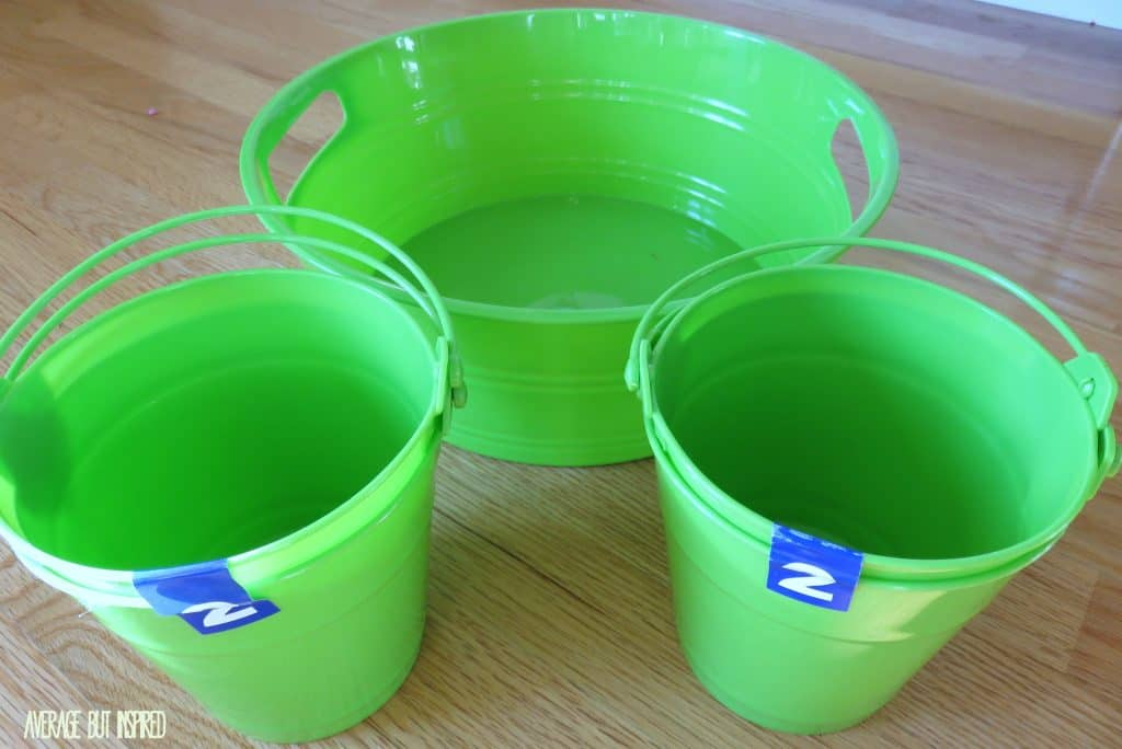 Caddy - plain buckets