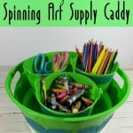 DIY Spinning Art Supply Caddy – Monthly DIY Challenge