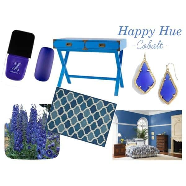 Cobalt blue is one of the hottest shades for Spring 2015! Check out these fun finds from Average But Inspired.