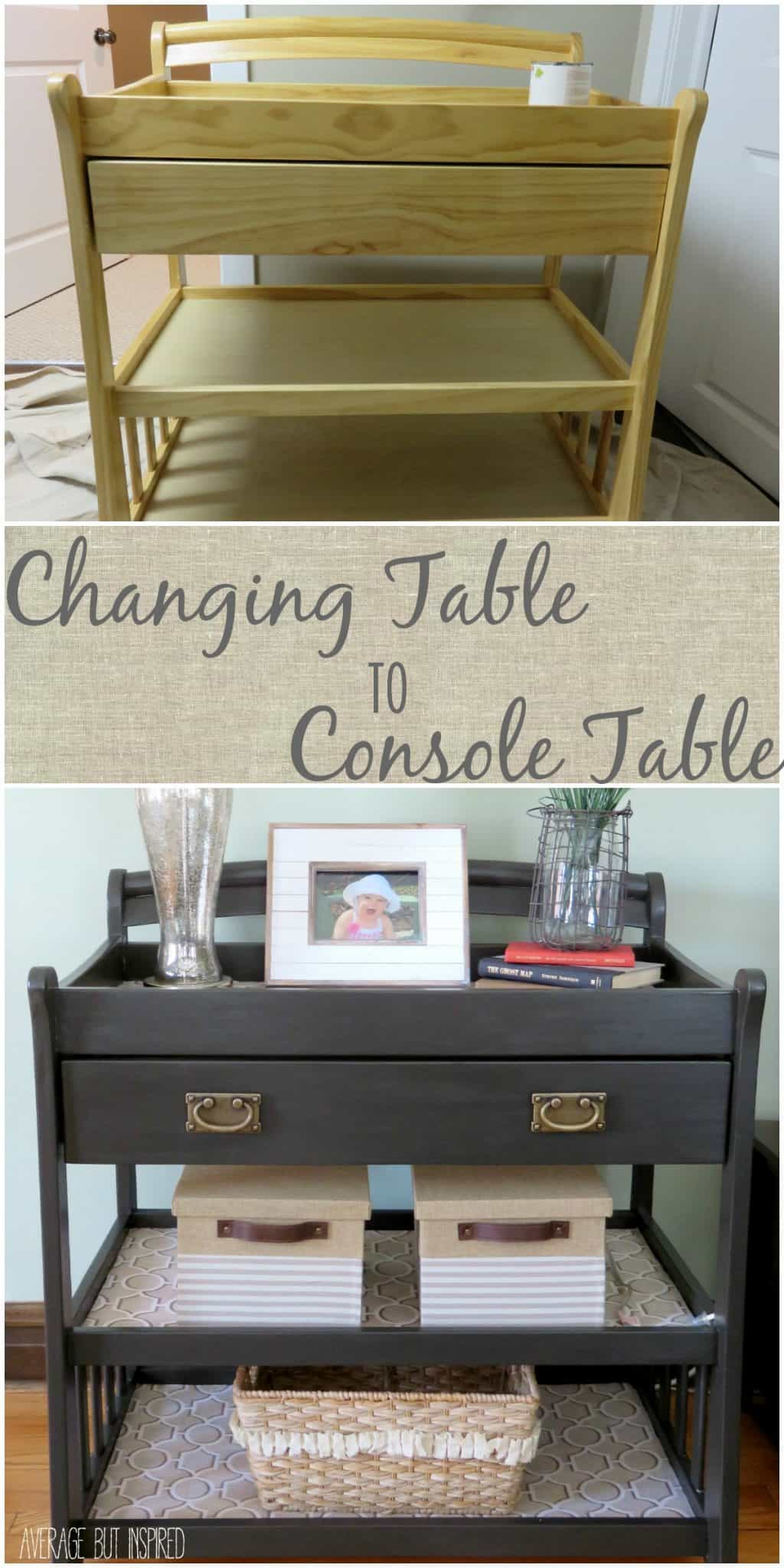 A Changing Table Upcycle