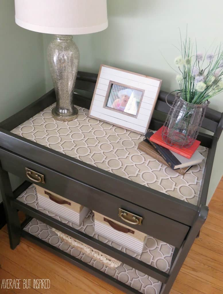 A changing table upcycle console table angle geotapseo Choice Image