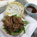 Slow Cooker Tangy Beef Sandwiches