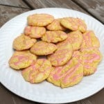 These soft and chewy pink lemonade cookies are a perfect treat for summer! They go together quickly and are a hit with everyone.