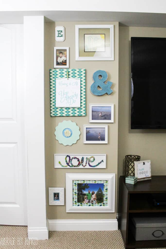 If you're planning to do a gallery wall you'll want to pin this post! Lots of ideas on how to save money and put one together for practically nothing!