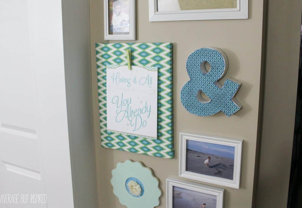 How to Make a Practically Free Gallery Wall
