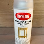Did you know there is a spray wax product for finishing your chalky finish paint projects? I tested it out and find out if I think it's a yay or a nay!