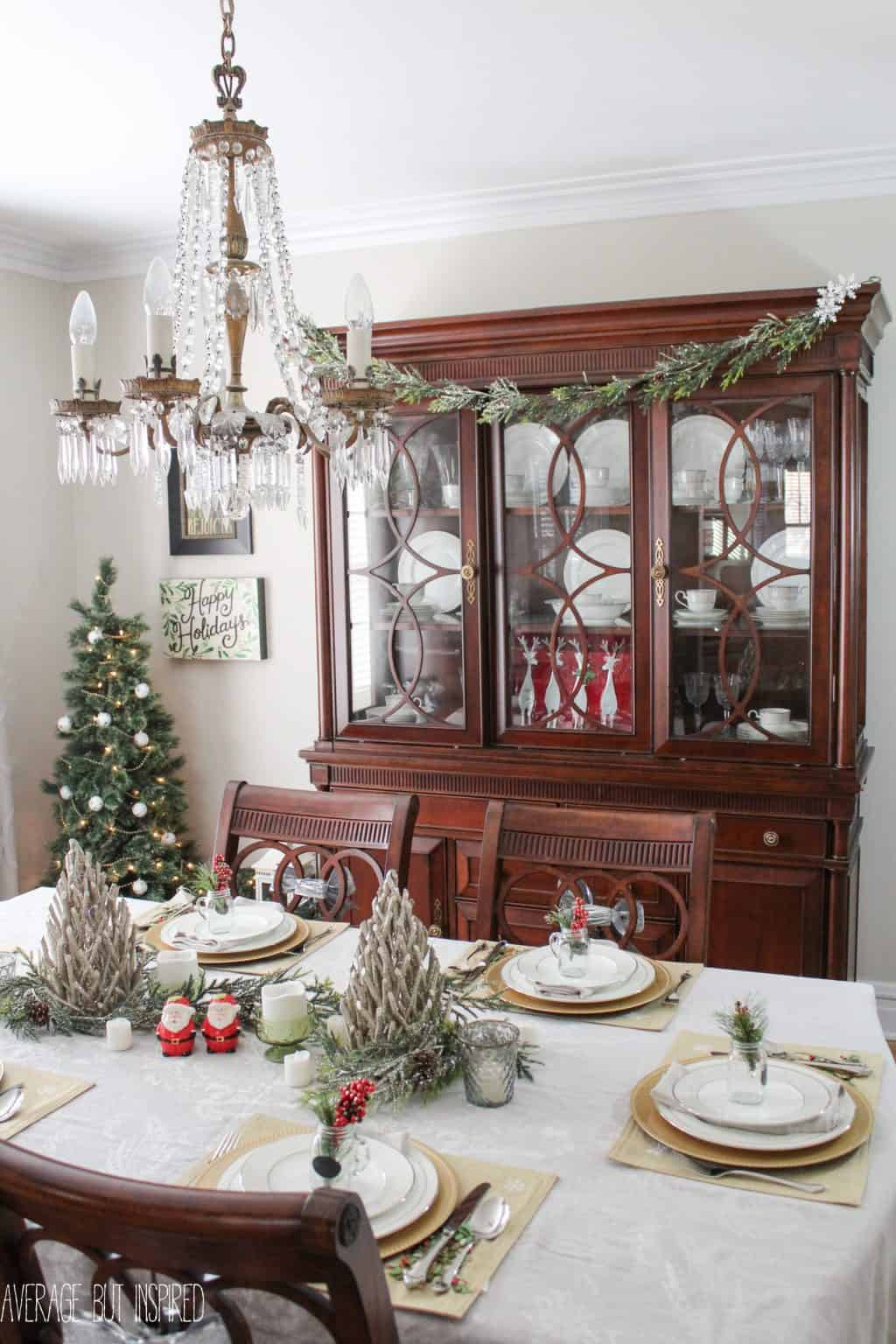 Miraculous 5 Tips For Decorating The Dining Room For Christmas Beutiful Home Inspiration Papxelindsey Bellcom