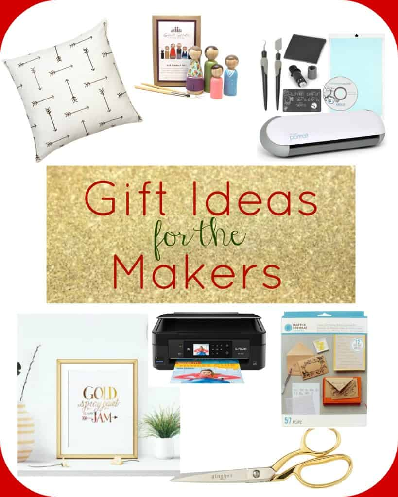 This post has GREAT gift ideas for the crafters, makers and DIY'ers in your life!