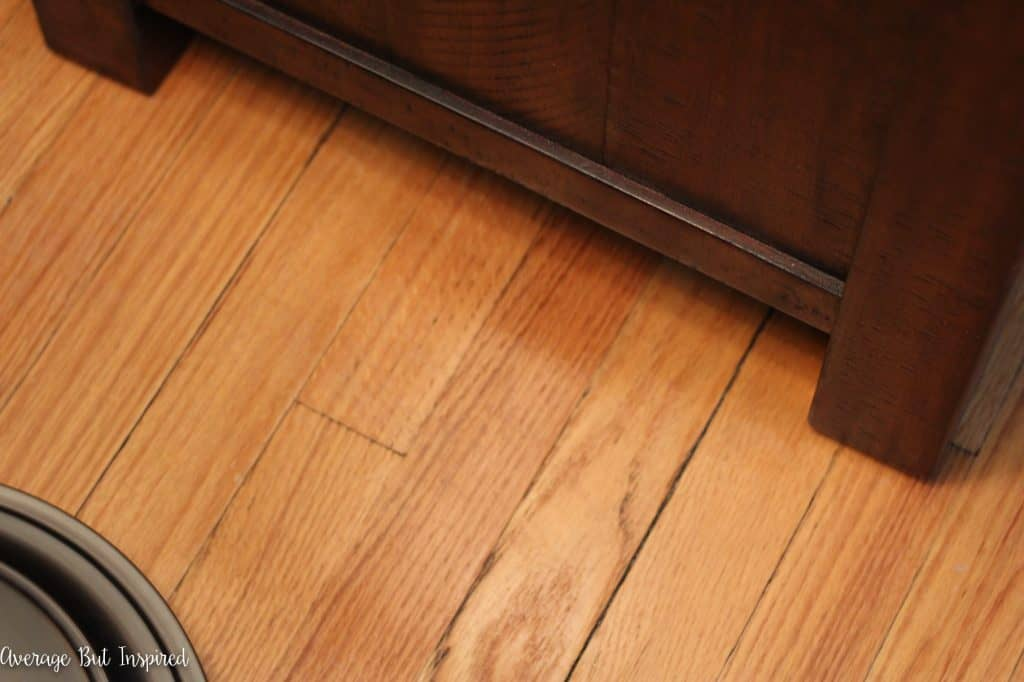 How To Fix Scratched Hardwood Floors In No Time Average But Inspired