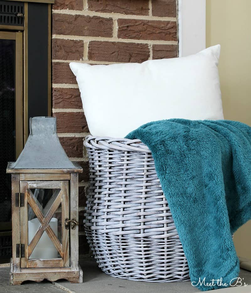 chalk paint basket