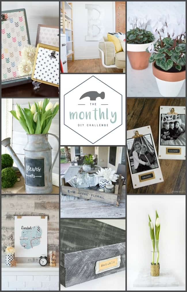 Check out how 9 crafty bloggers used metallic paint in these amazing and easy projects!