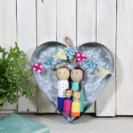 Personalized Peg Doll Family Craft