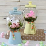 Adorable Spring Bunny Gumball Machine Craft