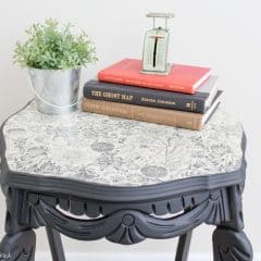 A Side Table Makeover