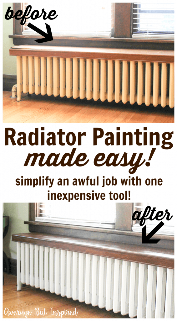 Radiator Painting Made Easy