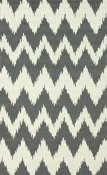 This affordable area rug in pretty shades of gray and cream would look great in any room! .Barcelona Soft Gray Rug