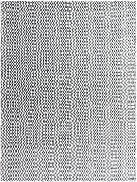 This affordable area rug in pretty shades of gray and cream would look great in any room! Bella Charcoal