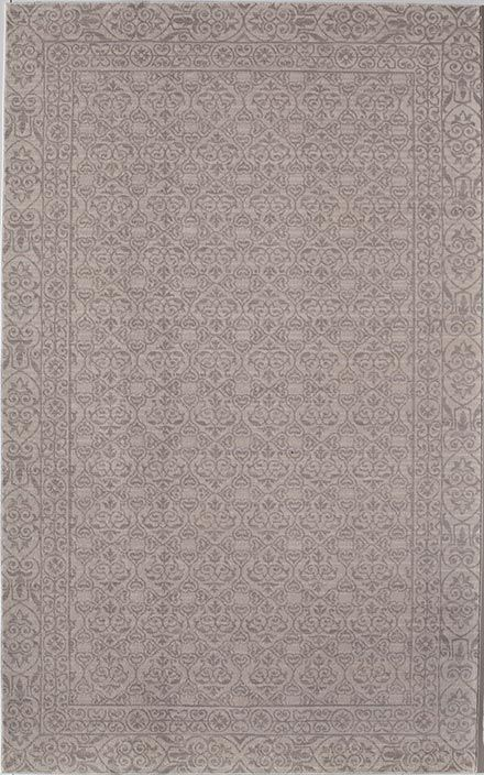 This affordable area rug in pretty shades of gray and cream would look great in any room! Wilshire Gray Ivory