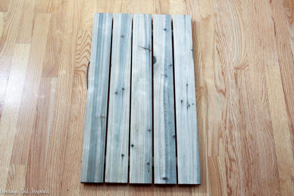 Learn how to make new wood look old! This tutorial shows you how to age new wood almost instantaneously to get a reclaimed wood look in no time!