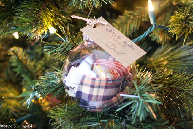 learn how to make diy memorial ornaments to help honor and remember loved ones who have