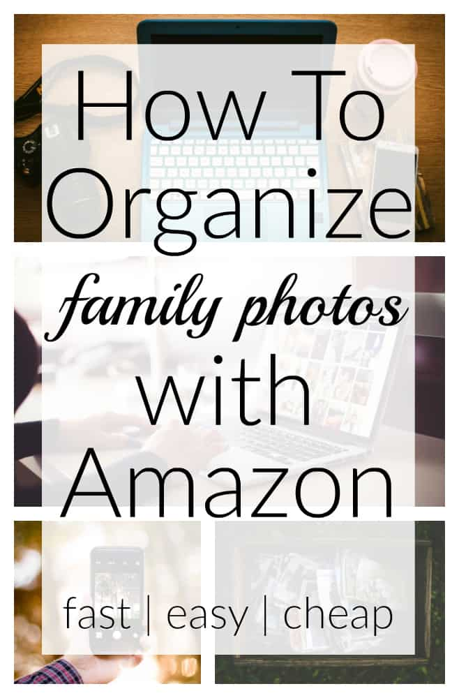 Organizing thousands of family photos can be overwhelming! But this post teaches you how to use Amazon to organize digital family photos in a quick and inexpensive way. Get tips on organizing and printing years' worth of family photos without getting overwhelmed.
