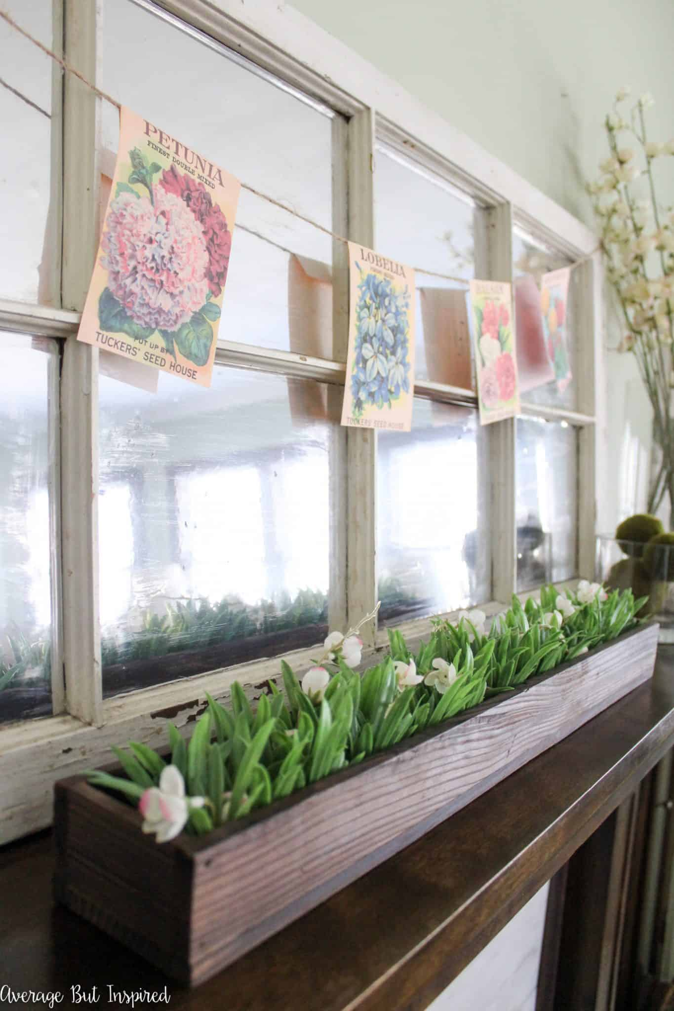 There are so many spring mantel decorating ideas in this post! Blend Easter and spring with this decor ideas that are affordable and easy to replicate.