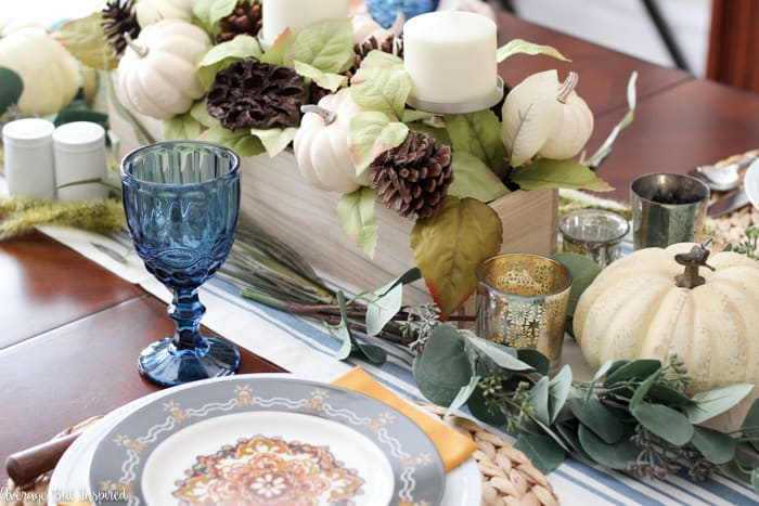 Get tips for decorating your dining room for fall!