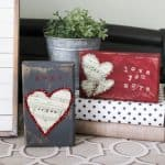 Easy DIY Scrap Wood Valentines