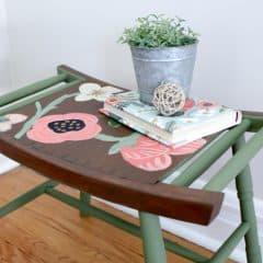 A Rifle Paper Co. Inspired Furniture Makeover