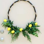 How to Make an Outdoor Hula Hoop Wreath