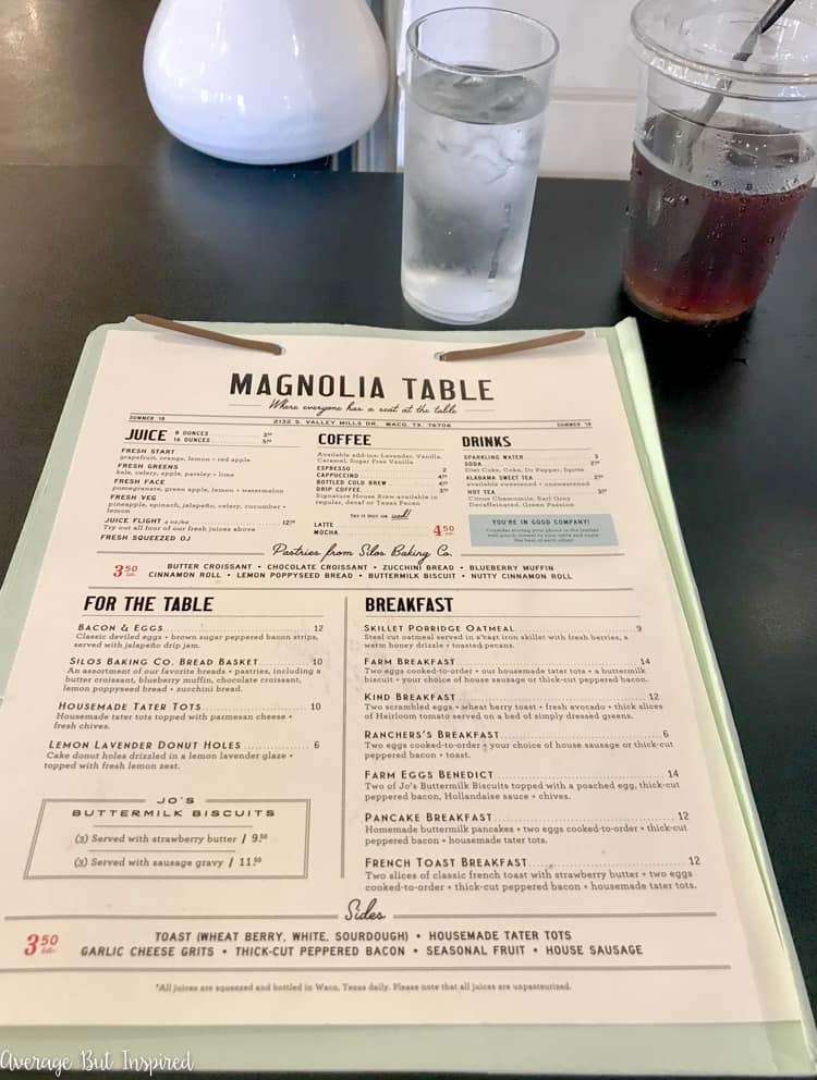 So helpful! If you're planning a trip to the Magnolia Market and/or the Silos in Waco, read this post to get five tips for making it the best visit possible! The Magnolia Table menu is amazing!