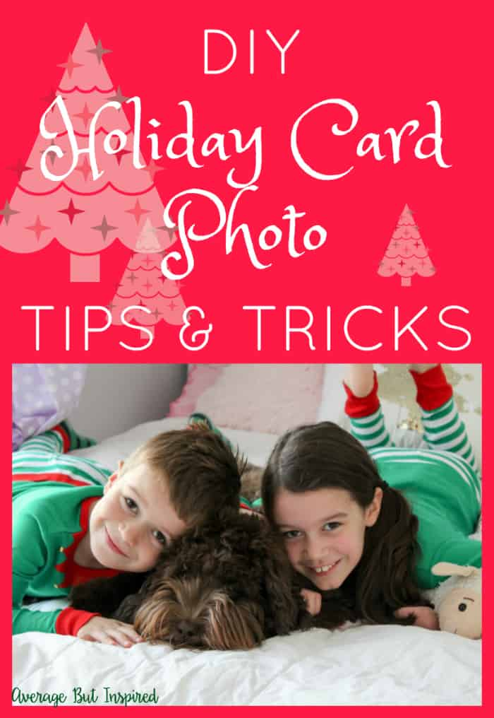 These are such great tips for taking DIY Christmas Card Photos! Save yourself money and get high quality photos with these ideas!