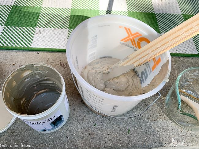 Romabio limewash is perfect for DIY limewashing of exterior stone.