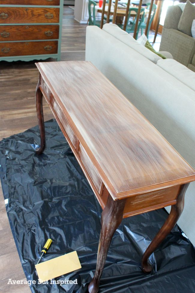 Giving cherry wood furniture that is to be painted a light sanding with 220-grit sandpaper is good for paint adhesion.